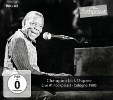 CHAMPION JACK DUPREE - LIVE AT ROCKPALAST COLOGNE 1980 2 CD+DVD NEU