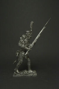 Tin soldier figure Private of the grenadier company line regiment 54 mm