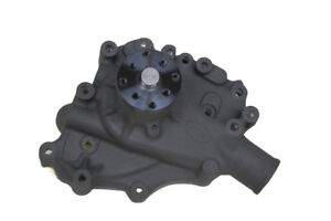 Competition+ Circle Track Ford 302-351W Aluminum Water Pump Ceramic Black Finish