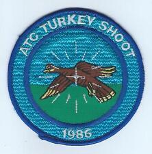 ATC TURKEY SHOOT 1986  patch