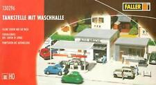 Faller 130296 H0 - Tankstelle mit Waschhalle NEU & OvP