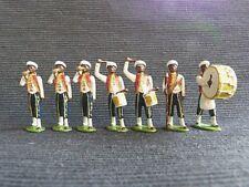 7 soldats de plomb de la fanfare - nouba - band - Colonies - Lead soldiers