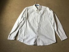American Outfitters mens shirt white cotton size XL ex display quality luxury
