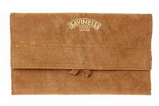 Savinelli Velvet Tobacco Pipe Pouch - Brown