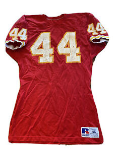 vintage kansas city chiefs Jersey #44 Size 46 Sample Pro Cut 80s Eric Harris ?
