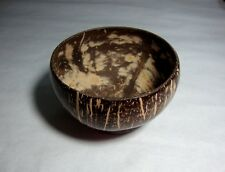 """SQUARE DIPPING BOWL / DISH THAI HANDCRAFT COCONUT  WOODEN SIZE 3"""""""