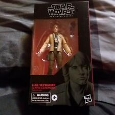 Star Wars Black Series Luke Skywalker Yavin Ceremony #100 Name ERROR Corrected