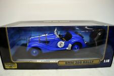 Ricko 1:18 32133 BMW 328 Rally, blau,  Die Cast