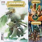 STAR WARS THE HIGH REPUBLIC #1 VARIANT COVER SET HANS 2021 Marvel Comics