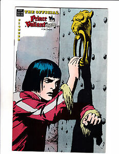 "Official Prince Valiant No17 1989-Strip Reprints Soft Cover-""Door Cover! """
