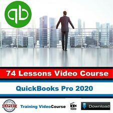 Video Course | QuickBooks Pro 2020 Training Course | 74 Lessons Tutorials