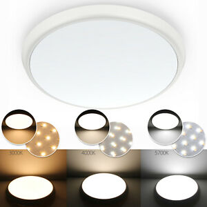 SLIM LED Oyster Light - Tri Color Changeable 12W -250*48mm / 18W -300*40mm IP54