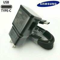 Original Samsung Galaxy Note10 S8 S9 S10 Plus Fast Wall Charger OEM Type-C Cable