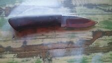 Edc Custom Messer aus USA / 440 Stahl und Wüsteneisenholz / Knife / Bushcraft