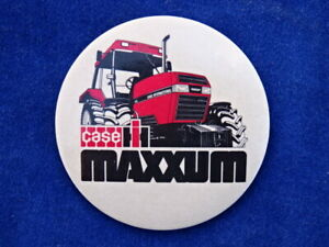 RARE & TOP +++ BADGE ANCIEN Old badge - CASE INTERNATIONAL HARVESTER IH MAXXUM