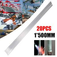 10x 2x500mm Low Temperature Aluminum Welding Solder Wire Brazing Repair Rod Tool