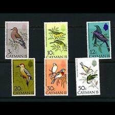 CAYMAN ISLANDS 1974 Birds. SG 337-342. Lightly Hinged Mint. (AM288)