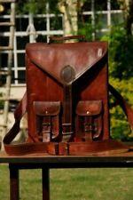 Best casual Vintage Leather Laptop Backpack Shoulder Travel Bag Sling Rucksack