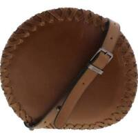 Circus by Sam Edelman Mercer Faux Leather Round Crossbody Handbag, Brown