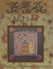 My House by R & R Reproductions Cross Stitch Chart