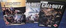 Call of Duty Deluxe Edition incl. AddOn United Offensive in DVD Hüllen deutsch