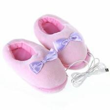 Usb Warmer Foot Shoes Plush Warm Cute Electric Slipper Winter Feet Catlike Heat