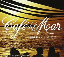 CAFE Del Mar terrace Mix 2 (Lux, Bent, photons, James Bright,...) CD NEUF