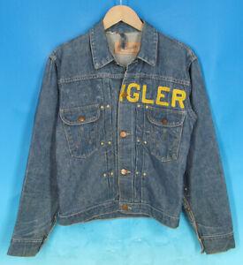 Vintage 1950's Wrangler 11MJ Jeans Shirts Champion Jacket Indigo