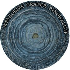 Niue Island 2018 1$ Meteorite Crater - Pingualuit 1oz Silver Coin