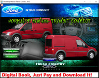 FACTORY REPAIR SERVICE MANUAL FOR FORD TRANSIT CONNECT 2012