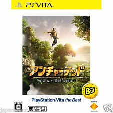 Uncharted: Golden Abyss (best) PS Vita SONY JAPANESE NEW JAPANZON