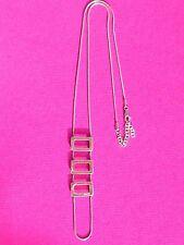 MEXX Lange Damen Kette 925 Sterling Silber Silberkette Halskette Schmuck edel
