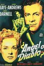Fallen Angel 02 Film A3 Poster Print