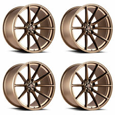 "20"" SAVINI SV-F4 BRONZE FORGED CONCAVE WHEELS RIMS FITS BENZ W211 E350 E500"