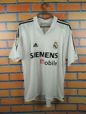 Real Madrid Jersey 2004 2005 Home M Shirt Soccer Football Adidas Trikot Maglia