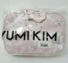 Yumi Kim Pink Floral Hanging Makeup Train Case