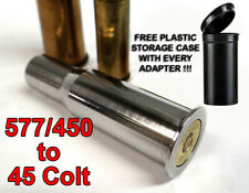 577/450 Martini Henry to 45 COLT Rifle Adapter - Chamber Reducer - Stainless-NEW