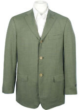 NEW $2795 Isaia Super 140's Sciammeria Sportcoat (Jacket)!  e 54 L US 44 L Green