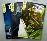 Radical THE LAST DAYS OF AMERICAN CRIME #1 (2nd Print) 2A 3A NM 9.4 Ships FREE!