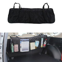 Multi-Pocket Car Seat Back Tidy Organiser Travel Storage Bag Holder Hanging AU