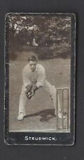 SMITH - CRICKETERS (1-50) - #31 STRUDWICK