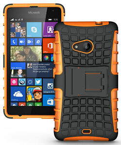 NEW GRENADE GRIP RUGGED TPU SKIN HARD CASE COVER STAND FOR NOKIA LUMIA 535 PHONE