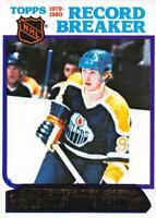 1980-81 Topps Hockey Card NM Set Break 1-132 Pick From List