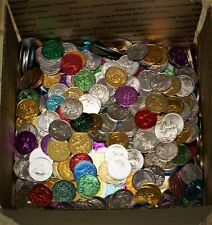 29 POUNDS OF ASSORTED NEW ORLEANS MARDI GRAS PARADE DOUBLOONS 1990-2020