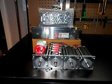 Gecko G540 Rev 8, & 4 Nema 23 600oz 1/4in Dual Shaft & 48v 12.5a Power Supply