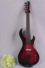4/4 Electric Violin Powerful Sound Guitar Shape Solid wood 5String#EV20