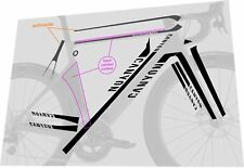 CANYON Aeroad CF SLX Frame Sticker / Decal Set