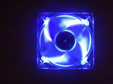 COMPUTER COOLING CASE FAN BLUE LED 92mm NEW