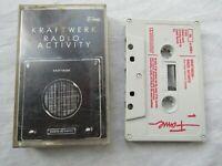 CASSETTE KRAFTWERK RADIO ACTIVITY ALBUM