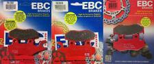 EBC Carbon X Brake Pads Set - Yamaha YFZ450 2006-2009, 2012-2014, YFZ450R
